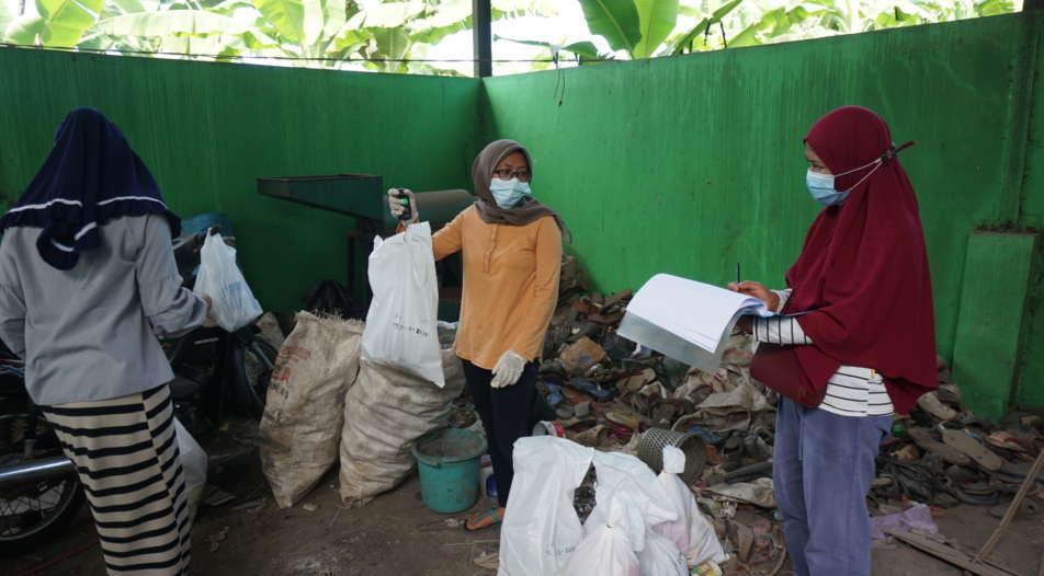 CLOCC kartlegger avfall i Indonesia